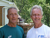 Hal and Joe, owners of Midwest Liners and Pools - Inground swimming pools and replacement liners